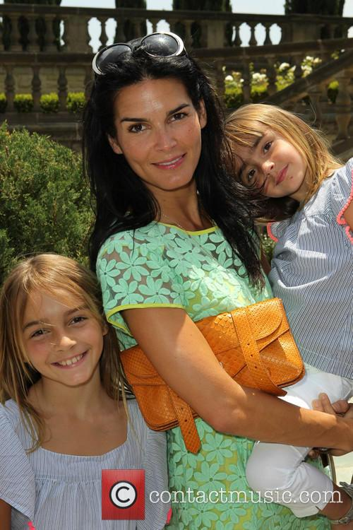 Angie Harmon and Daughters 11
