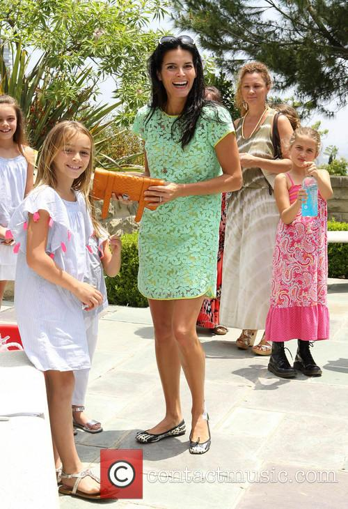 angie harmon daughters 7th annual kidstock music and 3700439