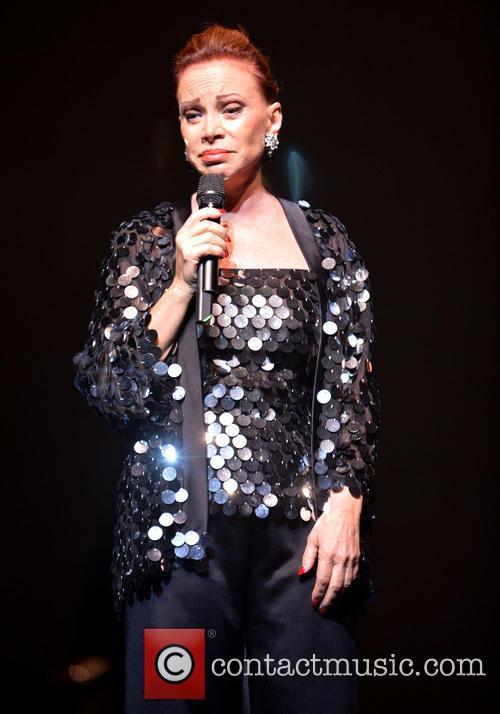 Paloma San Basilio performs live