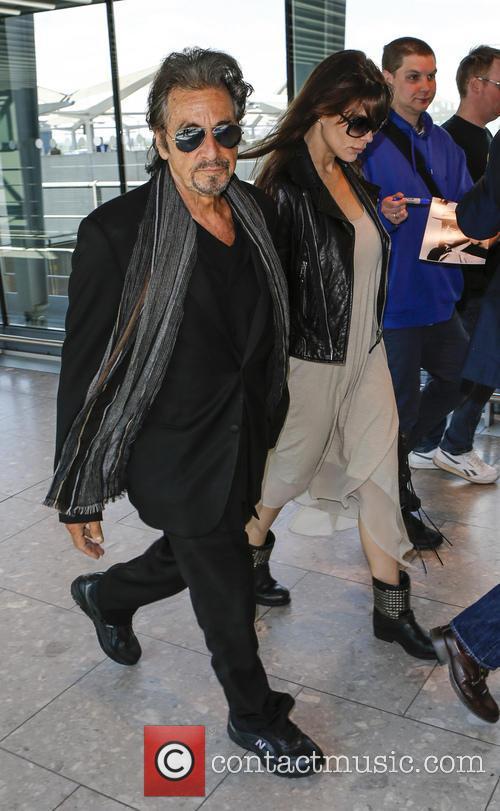 Al Pacino and Lucila Sola 7