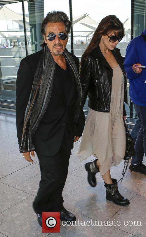 Al Pacino and Lucila Sola 9