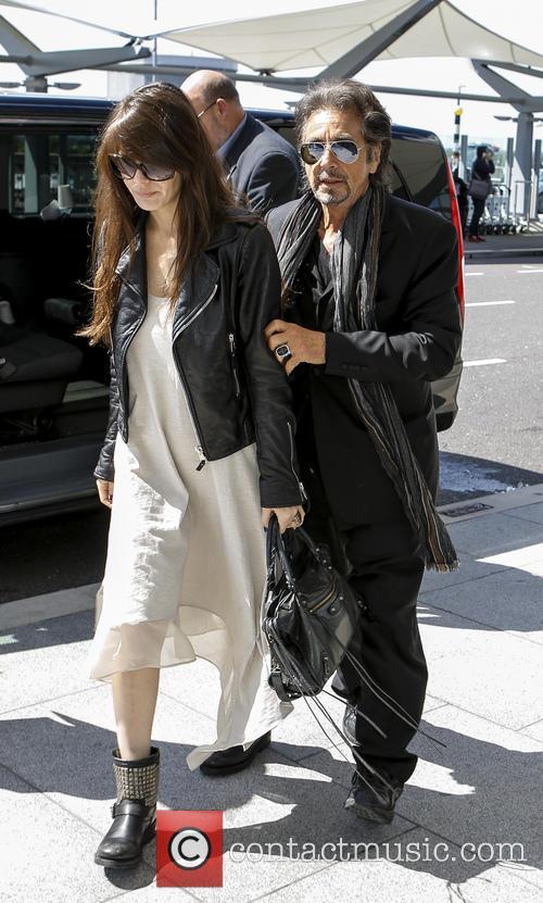 Al Pacino and Lucila Sola 10
