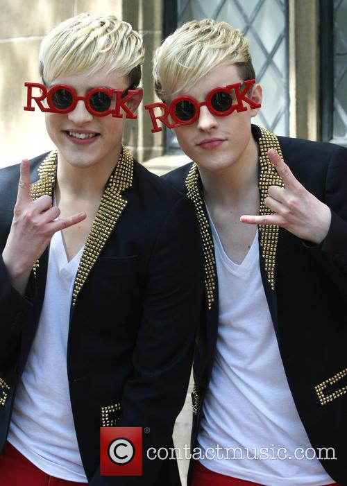 Jedward, John Grimes and Edward Grimes 6