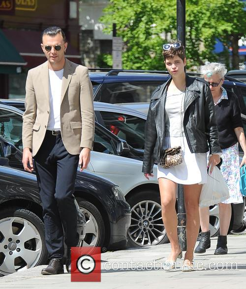 Pixie Geldof seen out and about in Primrose...