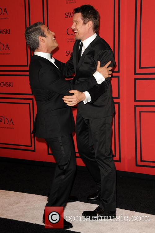 Andy Cohen and Ethan Hawke 3