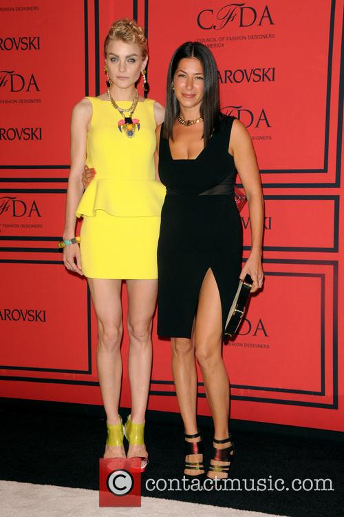 Jessica Stam and Rebecca Minkoff 5