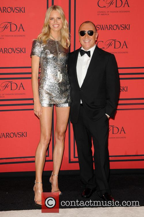 Karolina Kurkova and Michael Kors 4