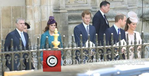 Hrh The Duke Of York, Prince Andrew, Princess Eugenie, Prince Harry, Catherine, Duchess Of Cambridge, Kate Middleton, Prince William and Duke Of Cambridge 2