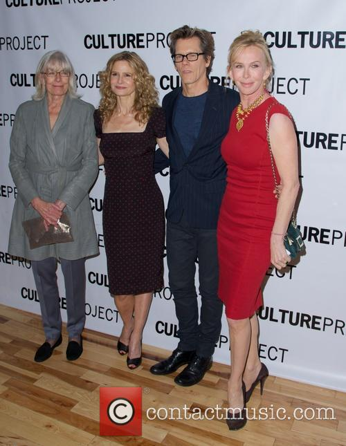 Vanessa Redgrave, Kyra Sedgwick, Kevin Bacon and Trudie Styler 3