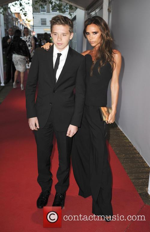 Brooklyn Beckham and Victoria Beckham 6