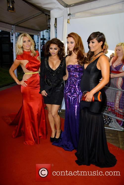 the saturdays mollie king vanessa white una healy frankie sandford glamour 3702329