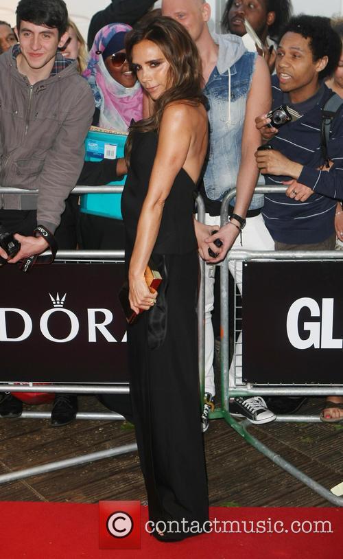 Victoria Beckham, Glamour Awards, Berkeley Square Gardens