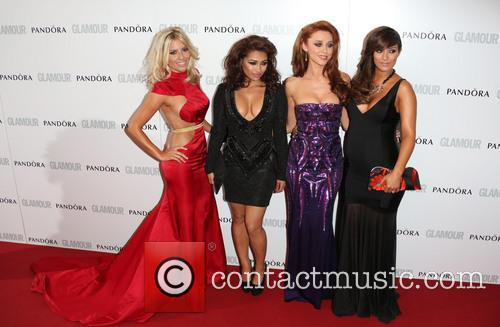 Mollie King, Vanessa White, Una Healy, Frankie Sandford and The Saturdays 1