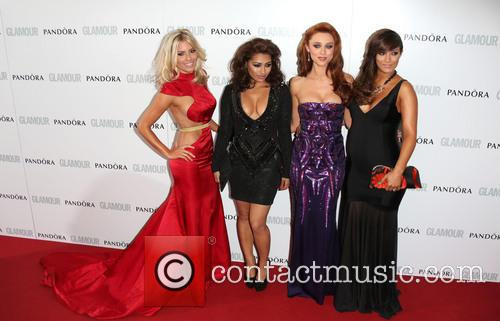 Mollie King, Vanessa White, Una Healy, Frankie Sandford and The Saturdays 3