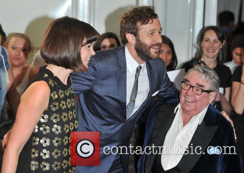 Dawn O'porter, Chris O'dowd and Ronnie Corbett 2