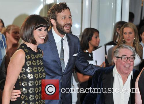 Dawn O'porter, Chris O'dowd and Ronnie Corbett 1