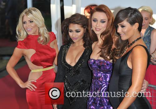 Mollie King, Vanessa White, Una Healy and Frankie Sandford Of The Saturdays 4