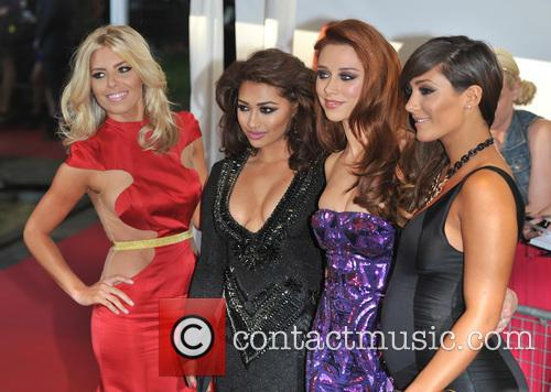 Mollie King, Vanessa White, Una Healy and Frankie Sandford Of The Saturdays 5