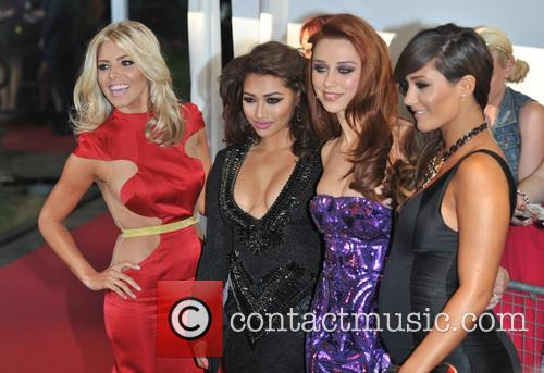 Mollie King, Vanessa White, Una Healy and Frankie Sandford Of The Saturdays 6