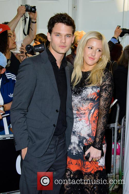 Jeremy Irvine and Ellie Goulding 4