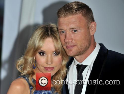 Andrew Flintoff and Rachael Wools 3