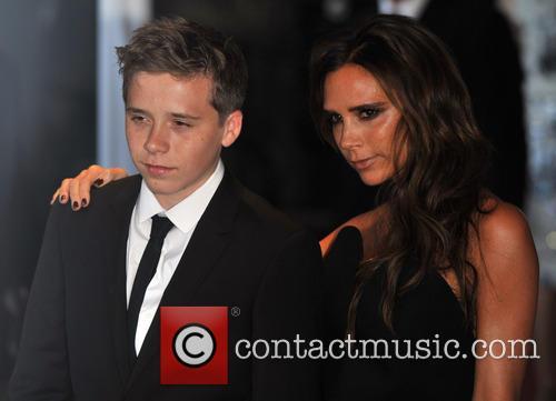 Brooklyn Beckham and Victoria Beckham 2