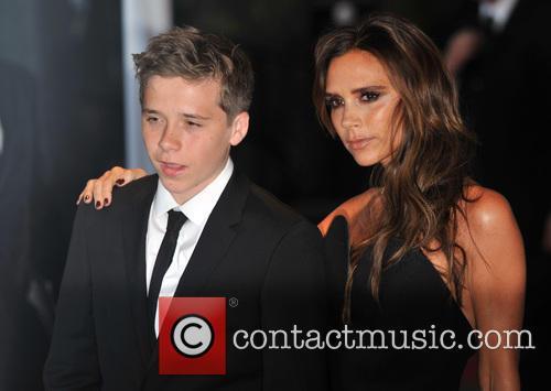 Brooklyn Beckham and Victoria Beckham 4