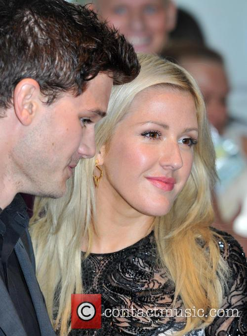 Ellie Goulding and Jeremy Irvine 8