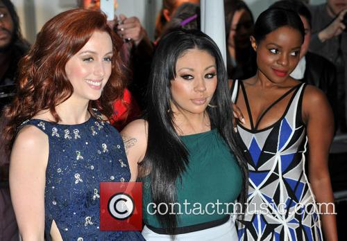 Siobh‡n Donaghy, Mutya Buena and Keisha Buchanan Of Sugababes 2