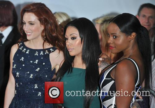 Siobh‡n Donaghy, Mutya Buena and Keisha Buchanan Of Sugababes 3