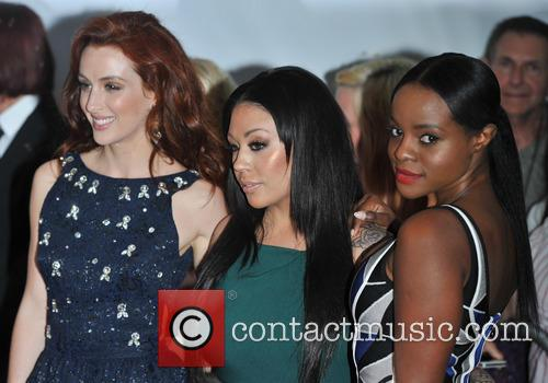 Siobh‡n Donaghy, Mutya Buena and Keisha Buchanan Of Sugababes 4