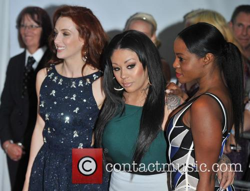 Siobh‡n Donaghy, Mutya Buena and Keisha Buchanan Of Sugababes 5