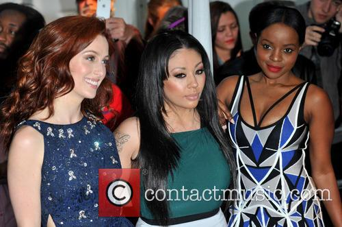 Siobh‡n Donaghy, Mutya Buena and Keisha Buchanan Of Sugababes 1