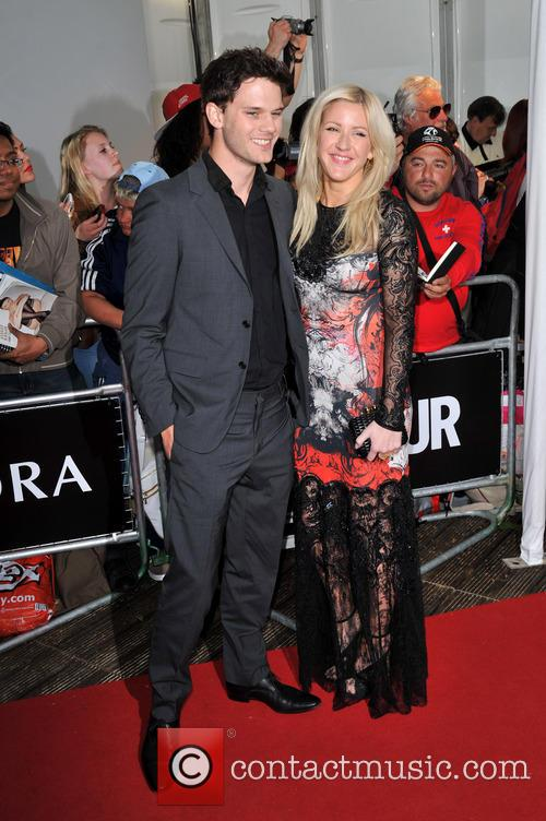 Jeremy Irvine and Ellie Goulding 5