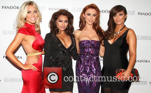 Mollie King, Vanessa White, Una Healy, Frankie Sandford and The Saturdays 10