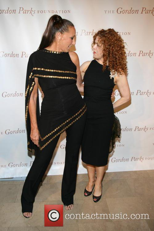 Donna Karan and Bernadette Peters 5
