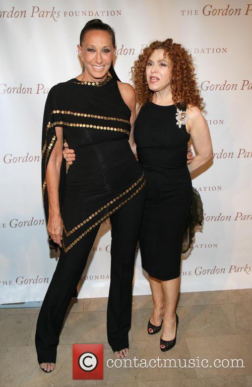 Donna Karan and Bernadette Peters 6