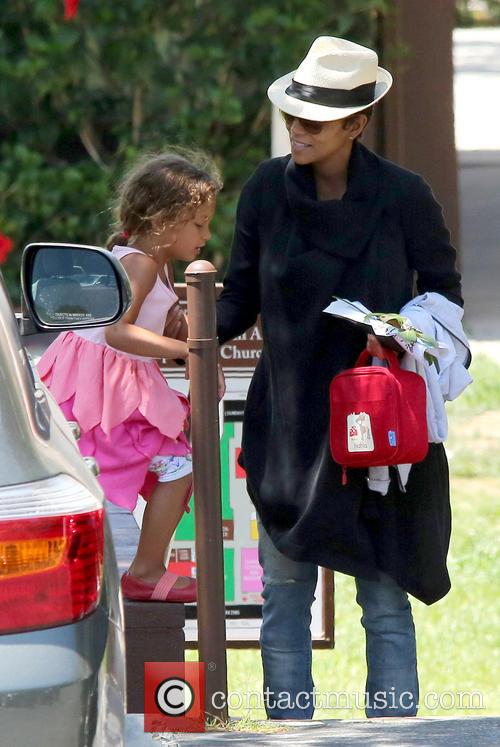 Halle Berry and Nahla Aubry 11