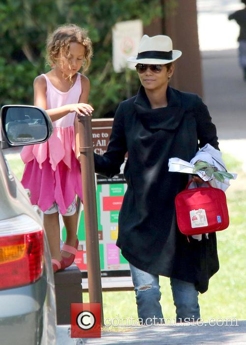 Halle Berry and Nahla Aubry 12