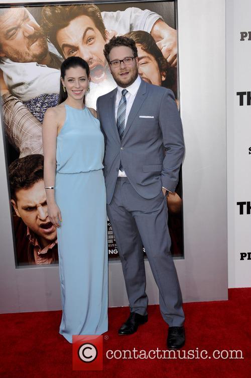 Seth Rogen and Lauren Miller 3