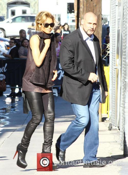 Ciara at 'Jimmy Kimmel Live!'