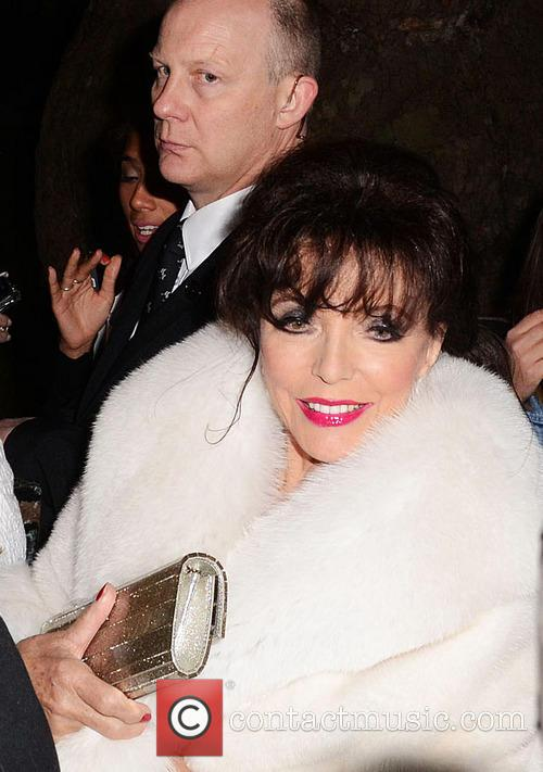 Joan Collins, Berkeley Square Gardens