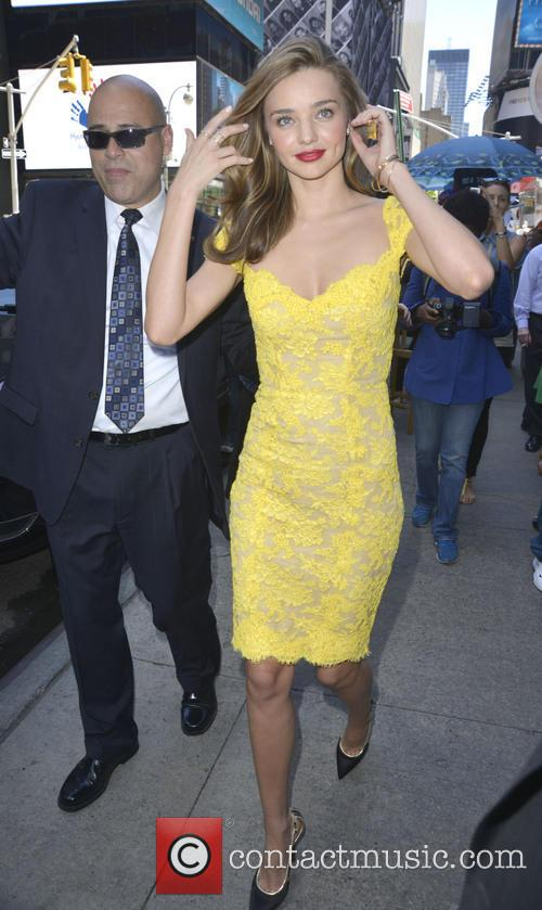 Miranda Kerr kicks off the Gillette Tour