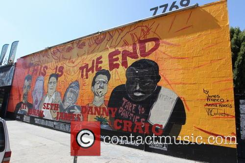 James Franco, This Is The End and Mural 1