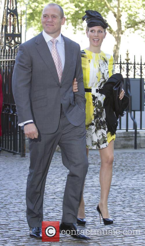 Zara Phillips and Mike Tindall 5