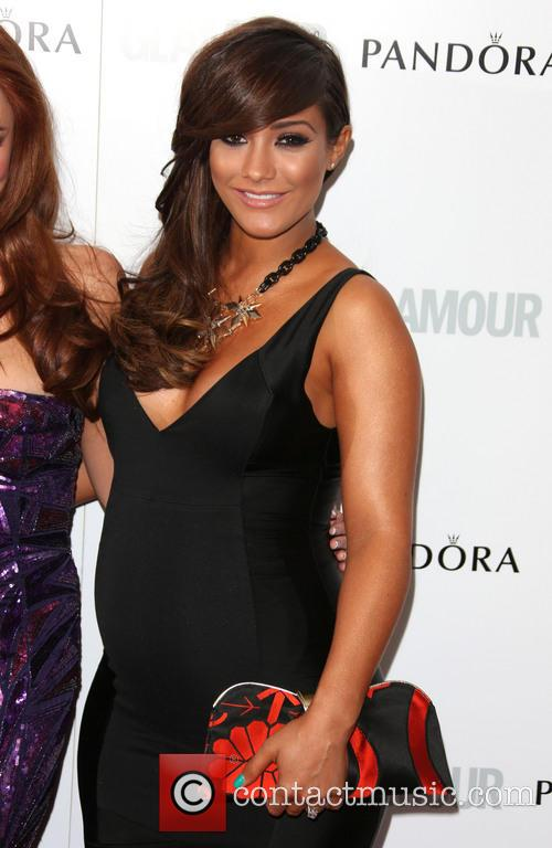 frankie sandford the saturdays the glamour women of 3911754