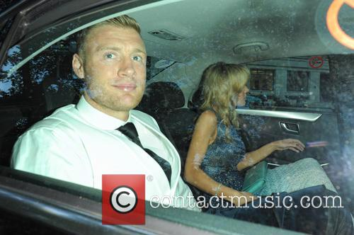 andrew flintoff rachael wools celebrities arive at glamour 3703544