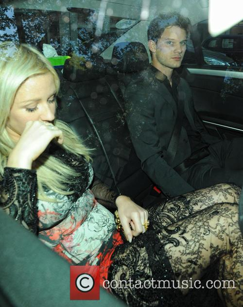 Ellie Goulding and Jeremy Irvine 1