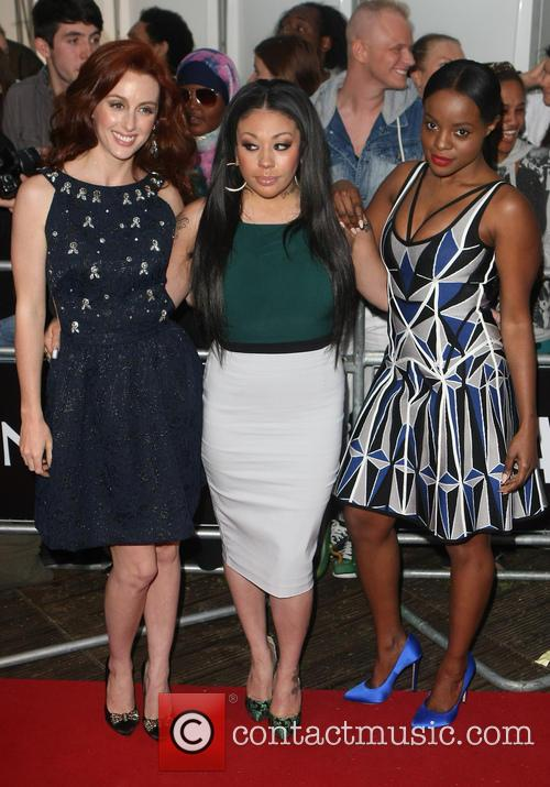 Sugababes, Glamour awards, Berkeley Square Gardens