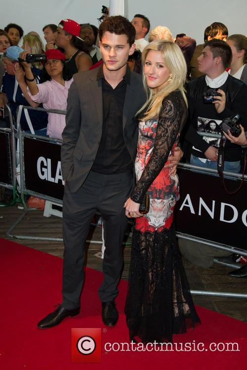 Ellie Goulding and Jeremy Irvine 2